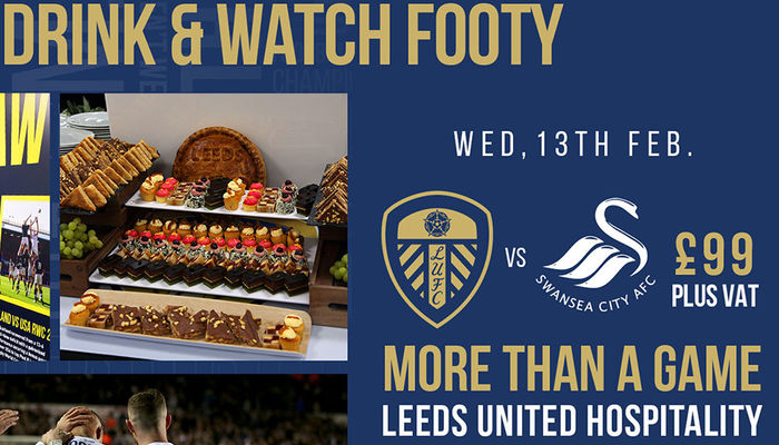 JOIN US IN THE LEEDS LOUNGE ON WEDNESDAY