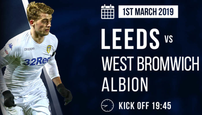 TICKETS: WEST BROMWICH ALBION (H)