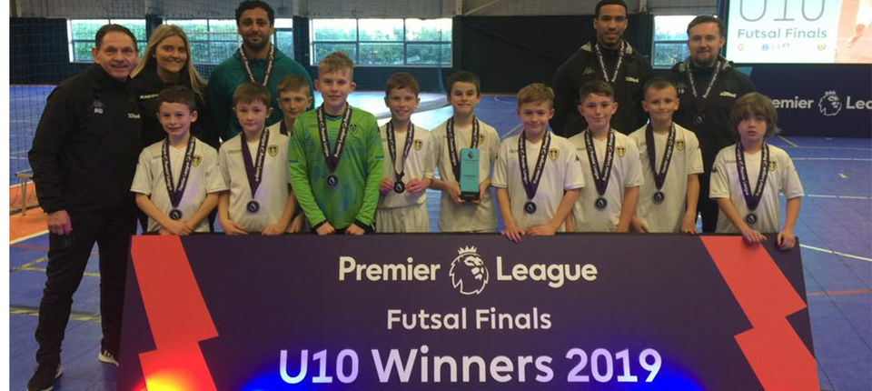 UNDER-10S BECOME NATIONAL CHAMPIONS
