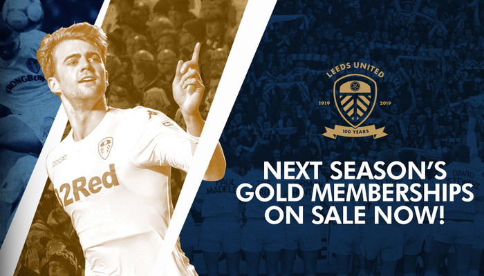 GOLD MEMBERSHIPS ON SALE FOR 2019/20 SEASON