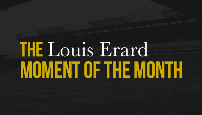 LOUIS ERARD: MOMENT OF THE MONTH