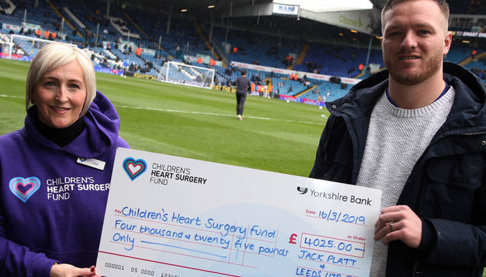 Over £4,000 donated to charity partner