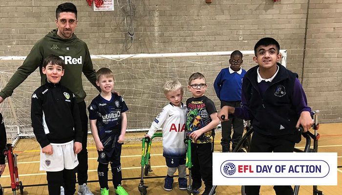 Leeds United supports 2019 EFL Day of Action