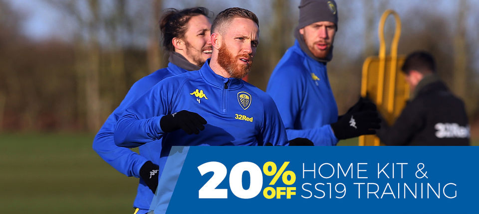 DISCOUNTS ON HOME KIT AND TRAINING WEAR
