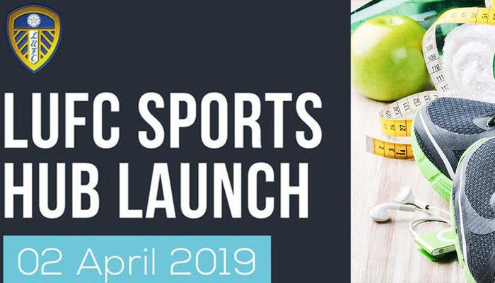 Launch for Leeds United Sports Hub