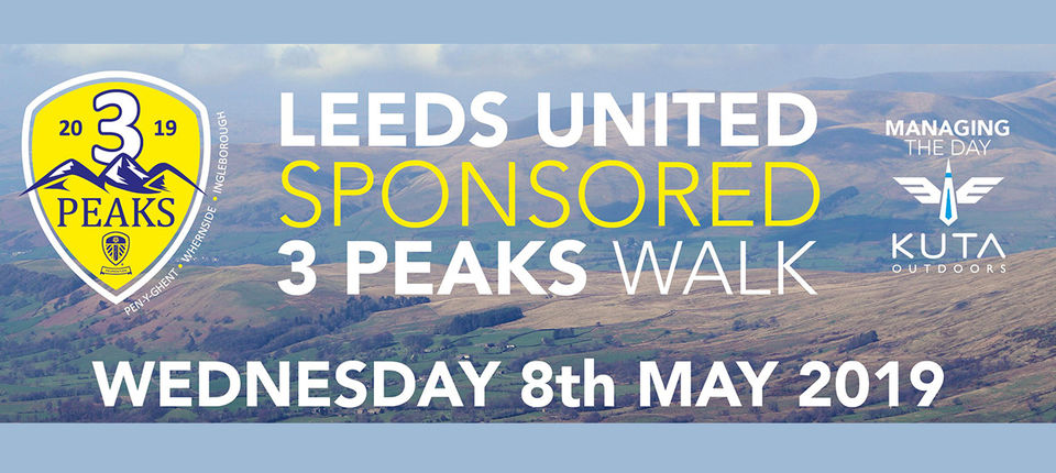 Leeds United to support Three Peaks challenge again