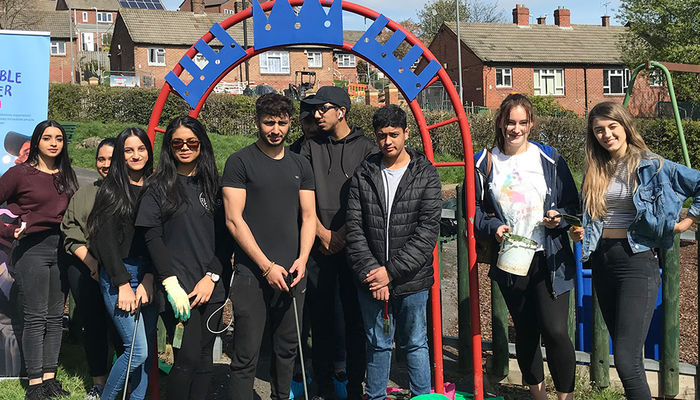 Social Action Day with NCS youngsters