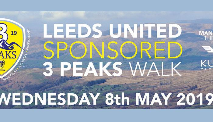 Leeds United to support Three Peaks challenge again