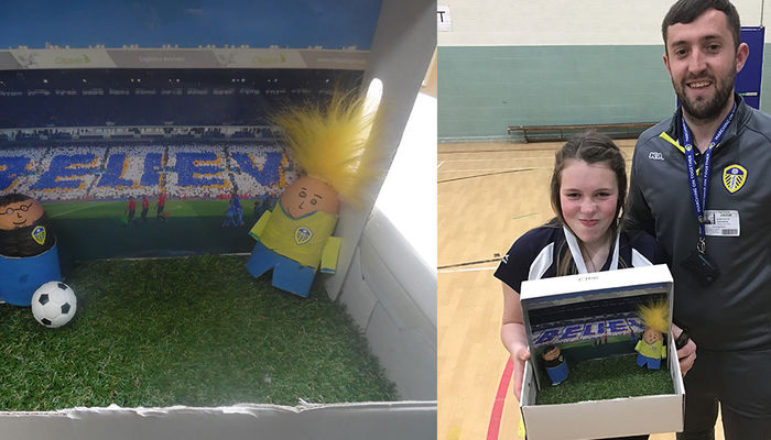 Leeds United themed Easter egg competition