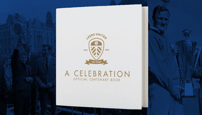 Official book celebrating 100 years of Leeds United