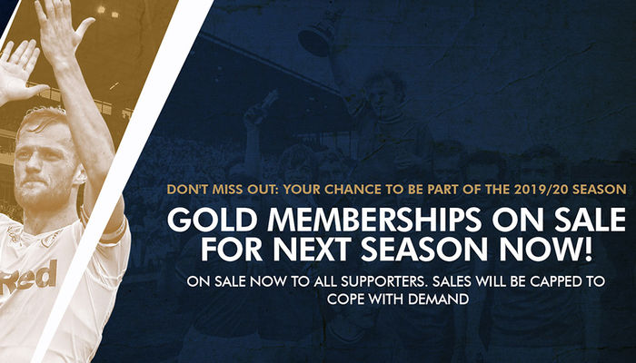 Grab your Gold Membership in time for next season