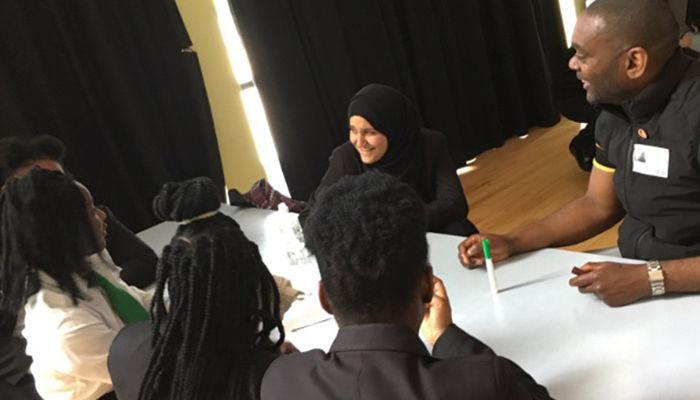Foundation deliver anti-crime workshop