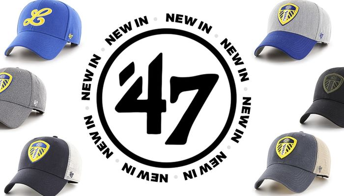 New \'47 headwear available in store