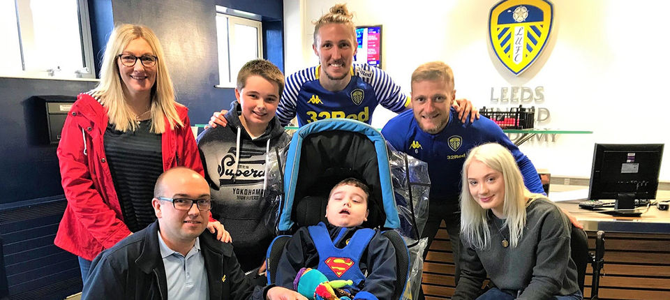 Special visit for Jack and his family
