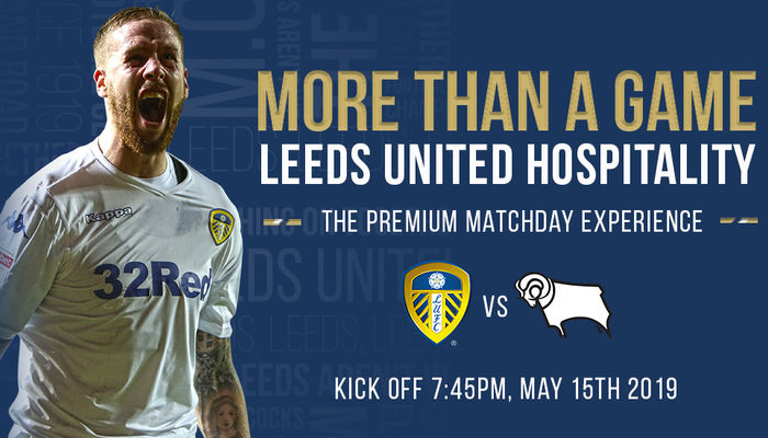Watch our Play-Off game against Derby County in style