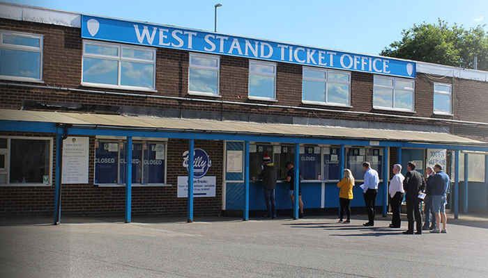 Ticket Office: Change of operation hours