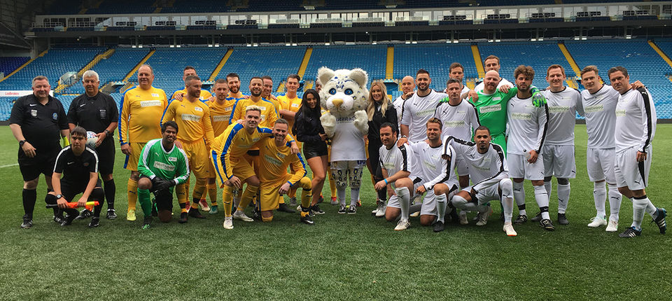 Charity match raises awareness for local charities