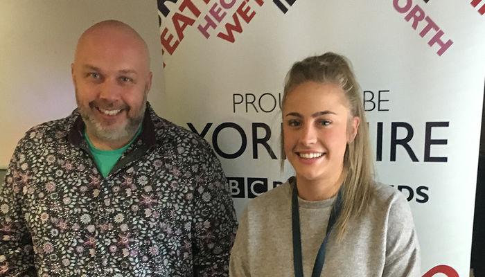 Foundation go live on BBC Radio Leeds