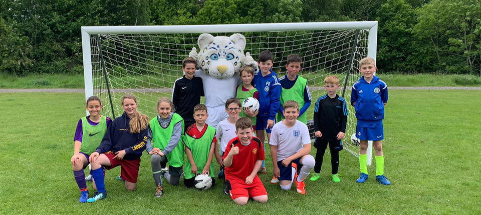 Successful soccer camps held over half-term holiday