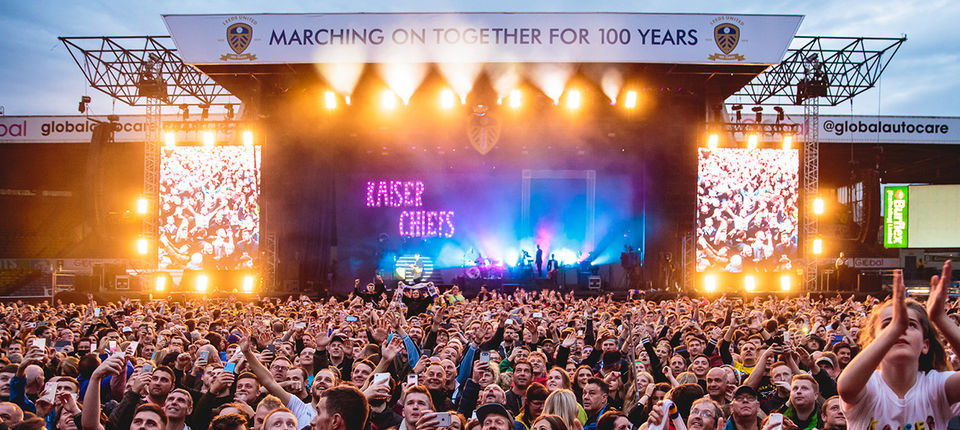 Centenary concert success with Kaiser Chiefs
