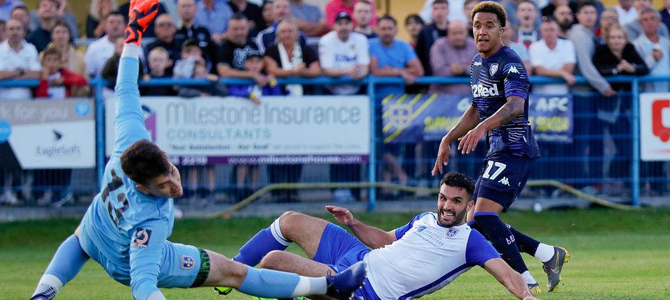 Report: Guiseley 1-2 Leeds United